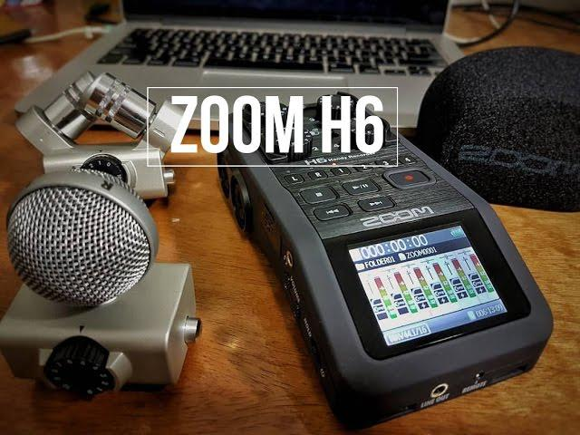 Unboxing do gravador Zoom H6